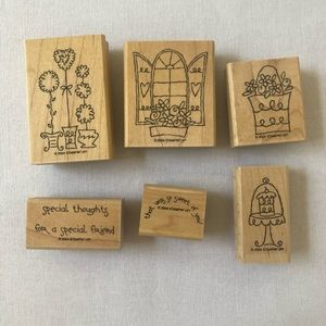 Stampin'up Sweet of you Set of 6 2004